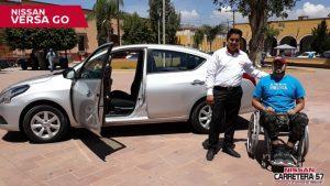 Nissan México presentó Versa GO, el primer modelo para personas con discapacidad