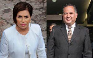 Rosario Robles y Santiago Nieto
