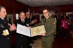 SEMAR entregó condecoraciones a militares, aéreos y navales de países amigos