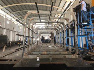 SEMAR construye embarcaciones sargaceras