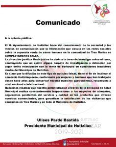 ¿Vendían barbacoa de carne humana en municipio de Morelos?