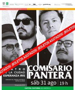 Comisario Pantera: localidades agotadas
