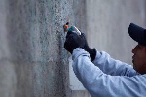 En Palacio Nacional restauran edificio tras vandalismo