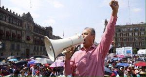 No se usará la fuerza en manifestaciones de la CNTE: Monreal
