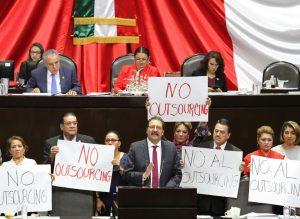 El PT Propone Eliminación de la Figura del Outsourcing