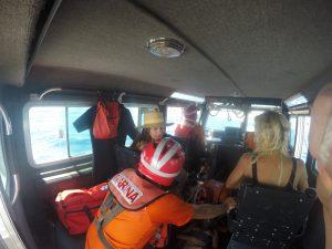 SEMAR realizó evacuación médica de turista en Cabo San Lucas, Baja California Sur