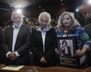 SEGOB pide disculpa pública a Martha Alicia Camacho Loaiza
