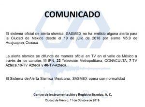 Comunicado Foto: Internet