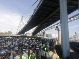 Enfrentamiento Foto: SSC-CDMX